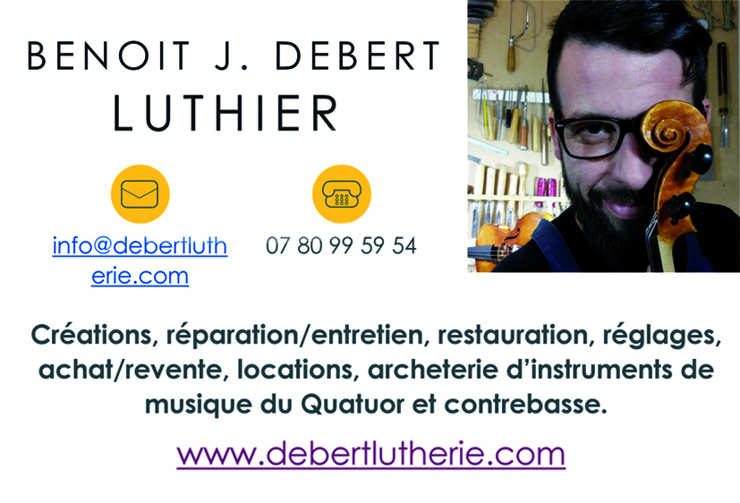 Debert luthier